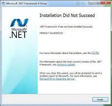 Error HRESULT 0xc8000222