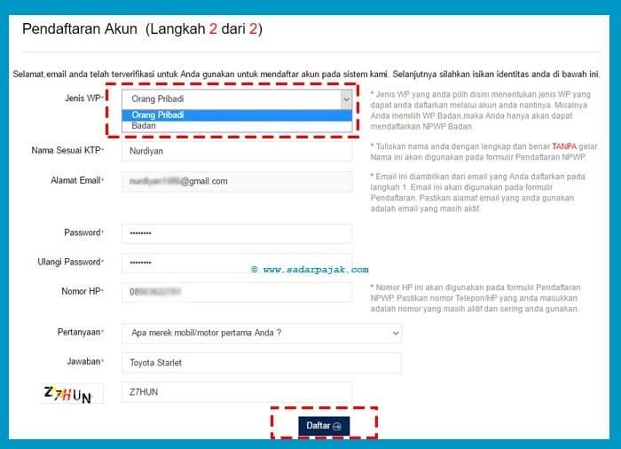 Cara Membuat Npwp Secara Online Sadar Pajak