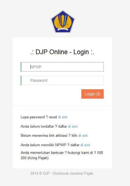 Akun DJP Online
